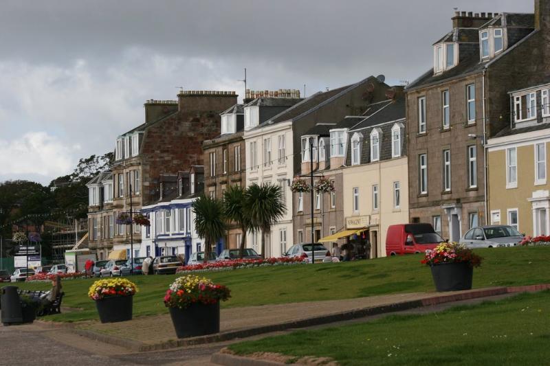 Millport, Glasgow Street (across from Newton Beach)