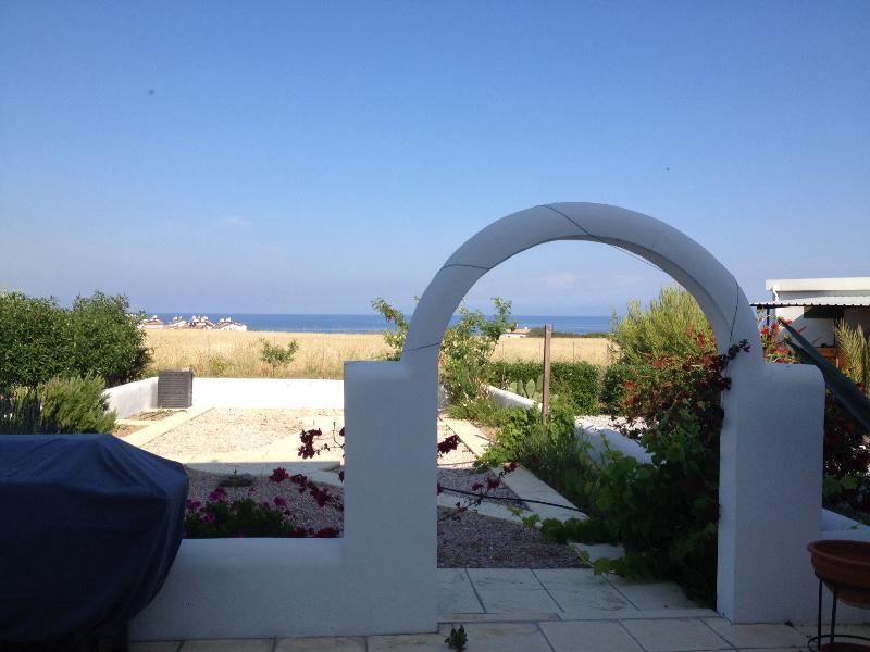 Sea Views from rear garden