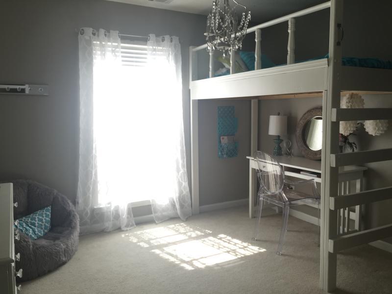 Loft Twin Bed in Third Bedroom