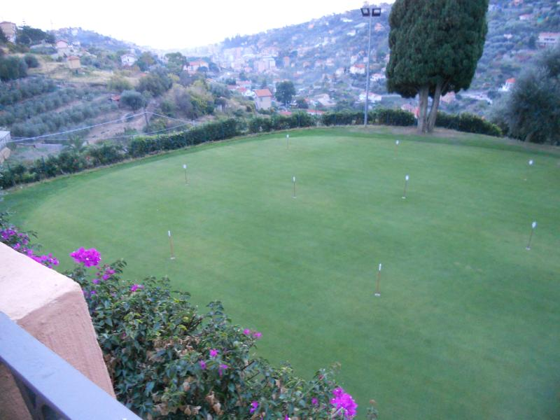 Green at Golf Club in Sanremo 25 minutes drive