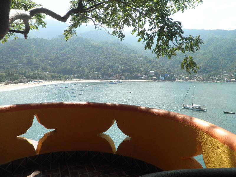 the best view of the bay of Yelapa