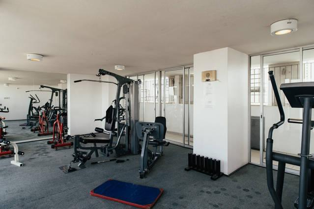 Gym at 25th floor