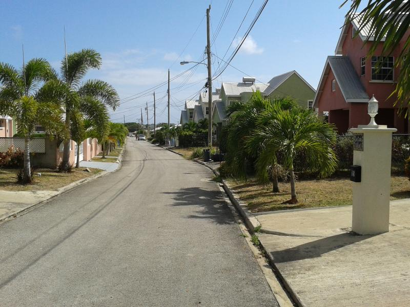 A quiet residential area very close to local shops and restaurants