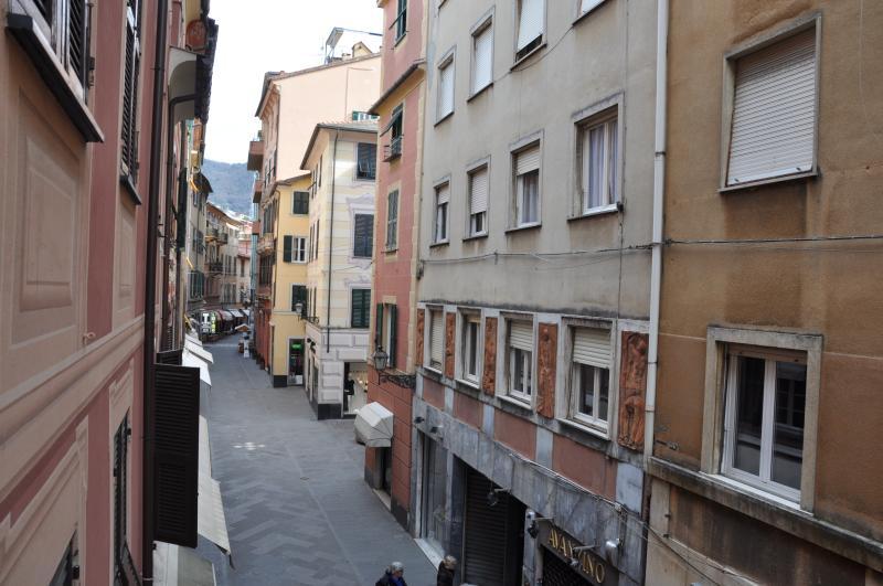 Bilocale nel centro storico, holiday rental in Rapallo
