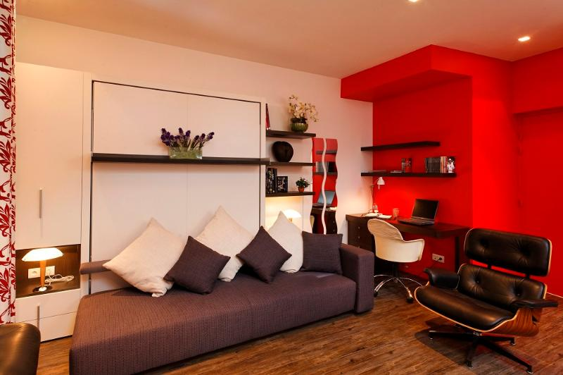 4 Star studio for 2 people Lake Annecy, location de vacances à Bluffy