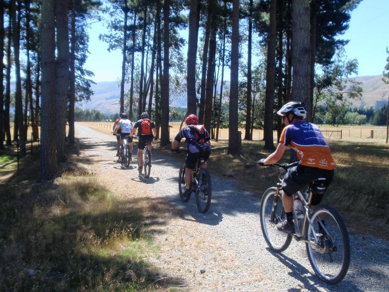 The Around the Mountains Cycle and Walking Trail now connects Lumsden to Mossburn and Kingston.
