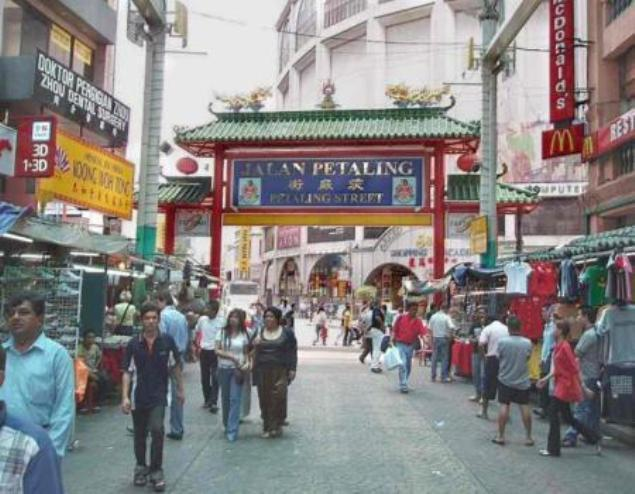 Interesting busy street bazaar.