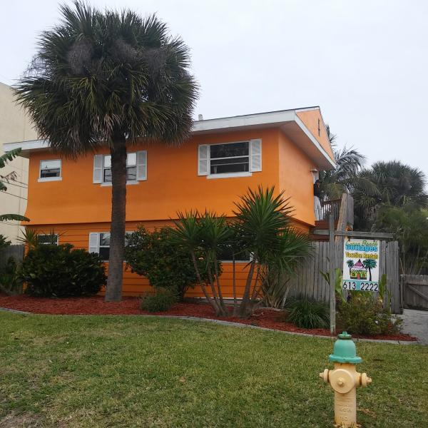 Front of Cocoa Beach Cottage