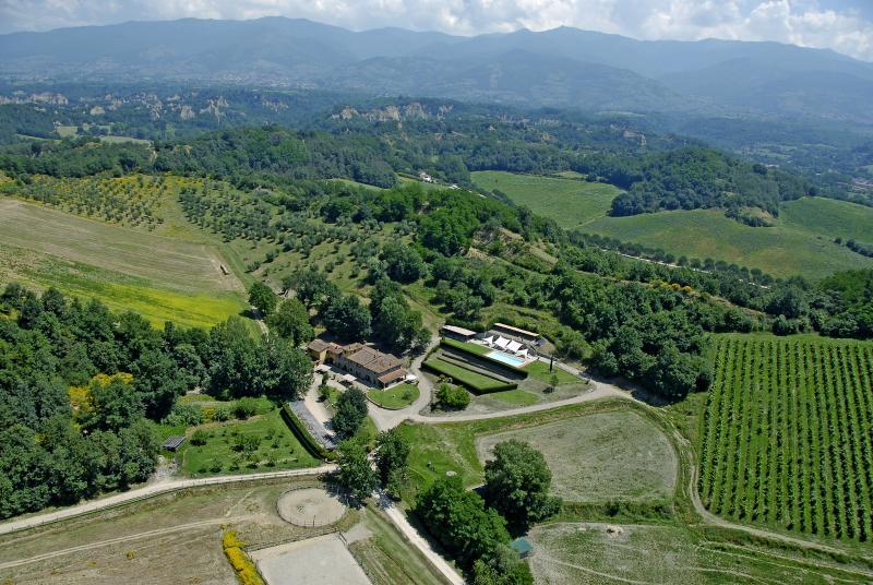 Agriturismo vicino a Firenze app.NOCCIOLO, location de vacances à Lagaccioni