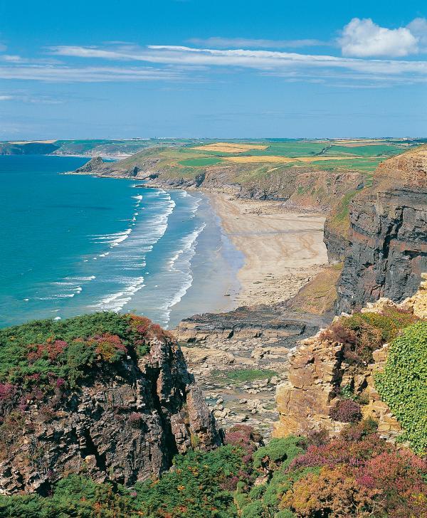 Pembrokeshire Coast Path at you door step.