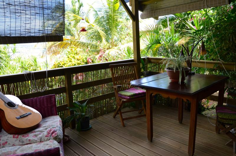 Estúdio BWA BANBOU - terrasse