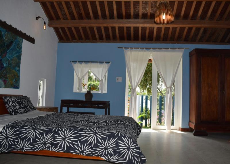 La Terrazza: Blue room, alquiler vacacional en Hoi An