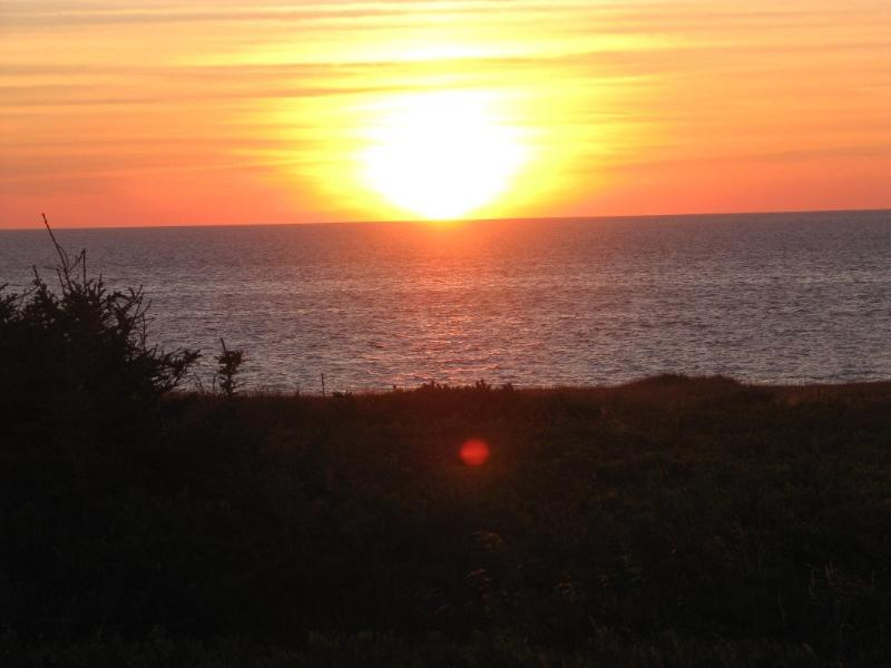 Hike to other side of island for beautiful sunsets on the Gulf of St. Laurence