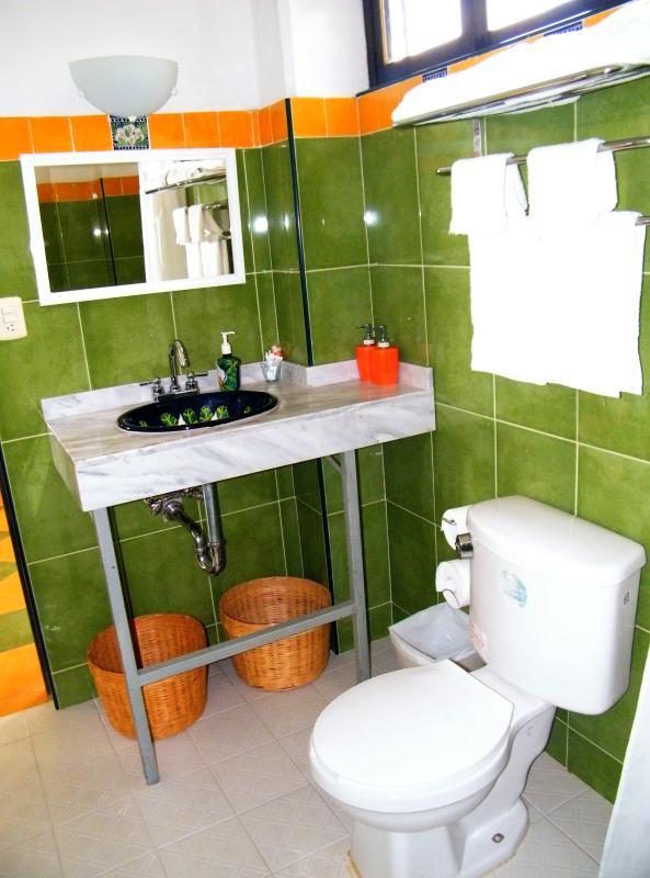 Diego Rivera bathroom.
