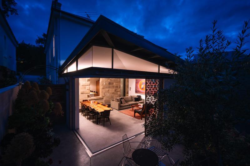 Superb modern living area extension