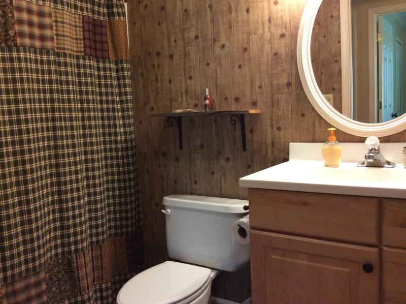 one of upstairs bathrooms