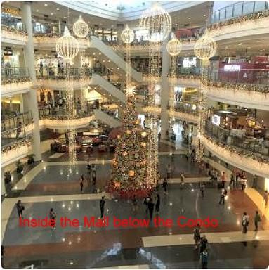 Inside Robinson Place Mall