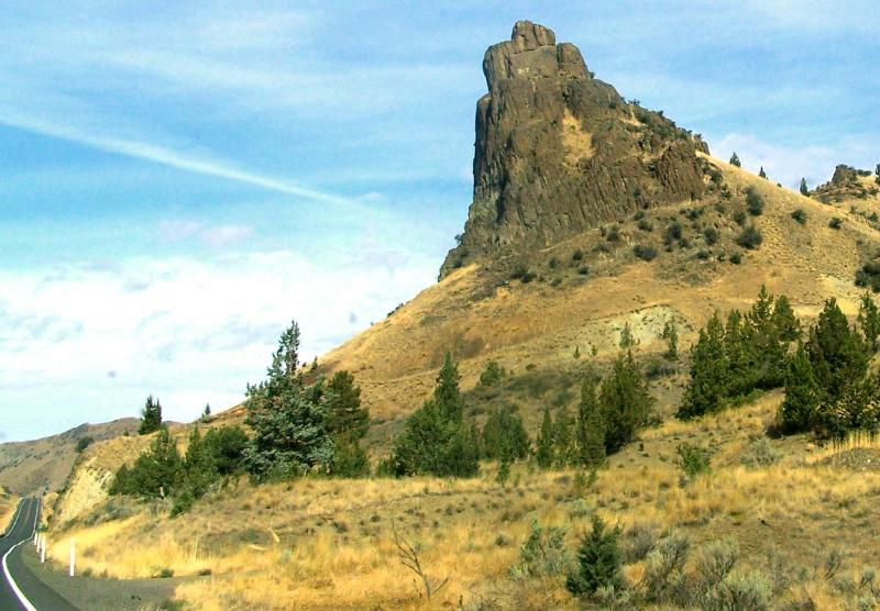 Mitchell Rock - on HWY 26