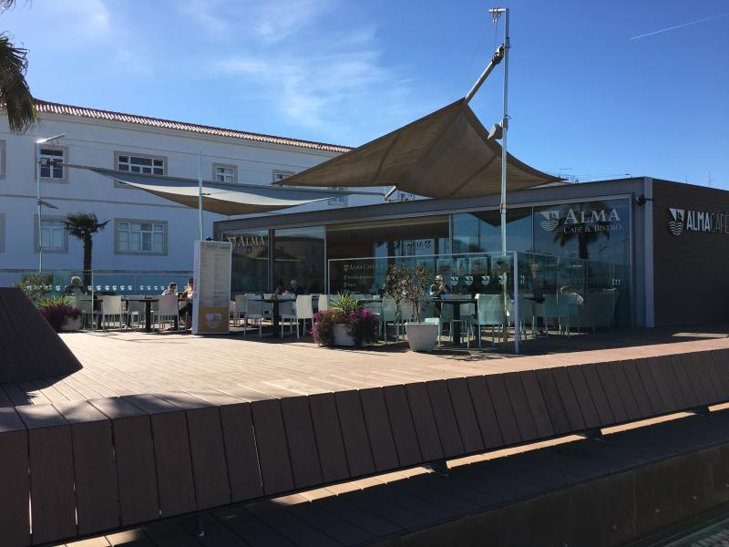 Fab new seafront  restaurant / bar called Alma