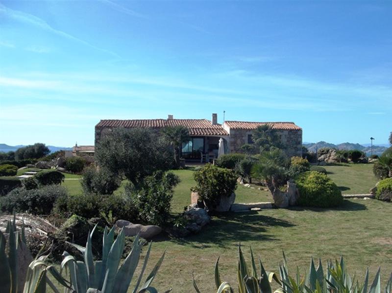 Panoramic Villa  with private pool  at  Porto Cervo, holiday rental in Poltu Quatu