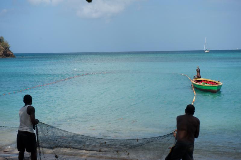 Fishing in Grenada