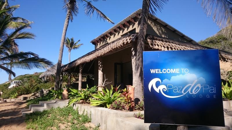 Willkommen in Paz do Pai Lodge ... unsere Empfangshalle