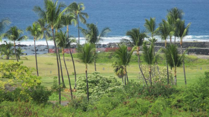 Actual view from your lanai of unit N4. Our home is uniquely located with unobstructed views.
