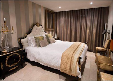 Main bedroom, luxury linen.