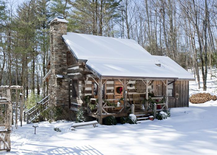 Beautiful December Snow at Little Creek