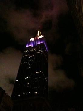 Walk just 5&1/2 blocks to The Empire State Building