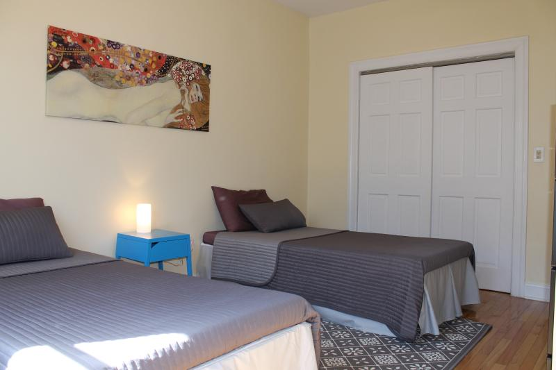 Spacious and clean with ample closet space.