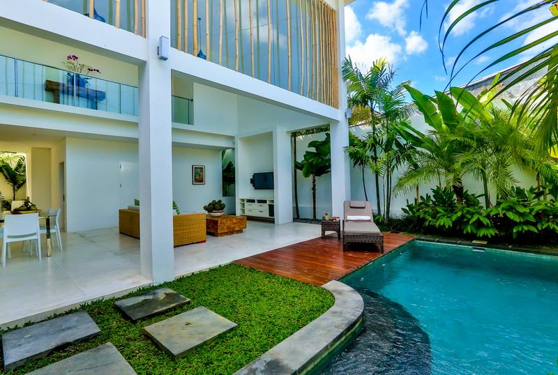 Central Seminyak Villa 40 Bedroom Modern Tropical Style With 40 Pools Gorgeous 5 Bedroom Villa Seminyak Style