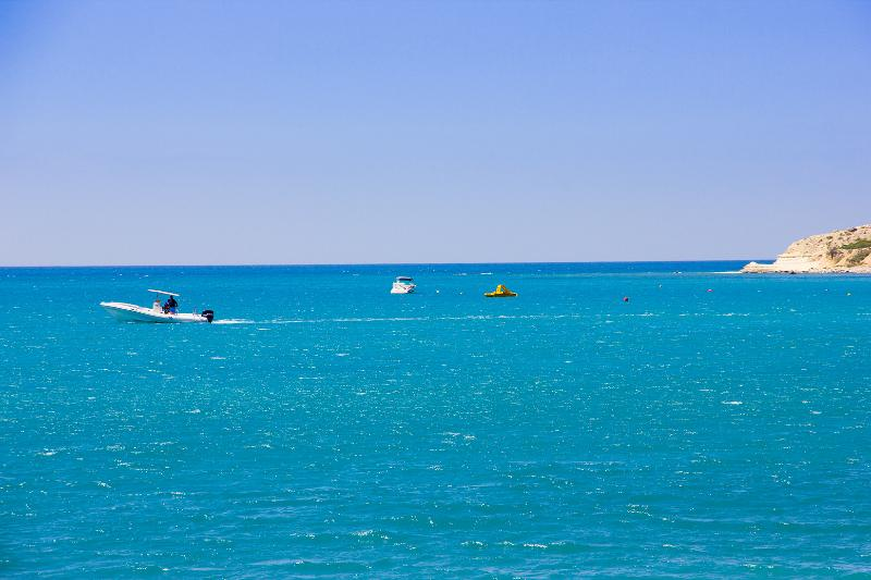 Great selection of water sports available in Pissouri Bay.