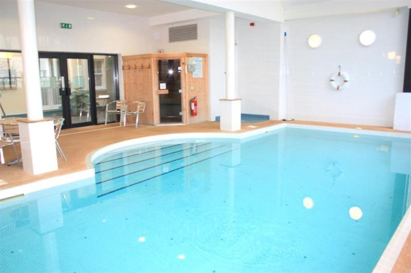Indoor heated shared swimming pool and sauna open 9am - 5pm.