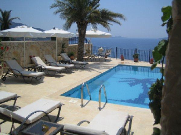 Inviting Pool Terrace