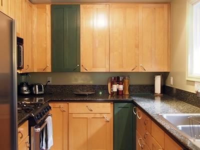 Sequoiatude, Full, modern kitchen with dishwasher