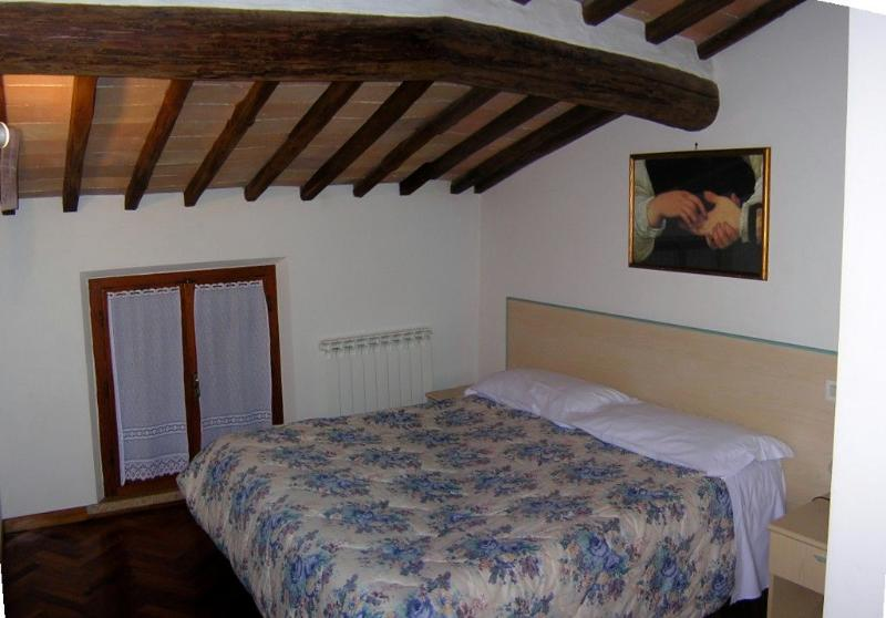 A romantic double bedroom with original beamed ceiling dated back 1200 to sleep with modern comfort.