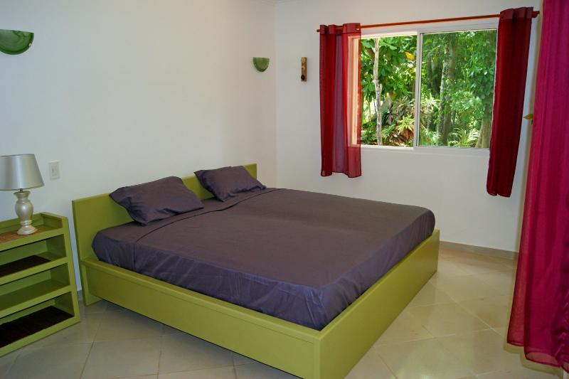 'Bamboussa room' with a king- size bed.
