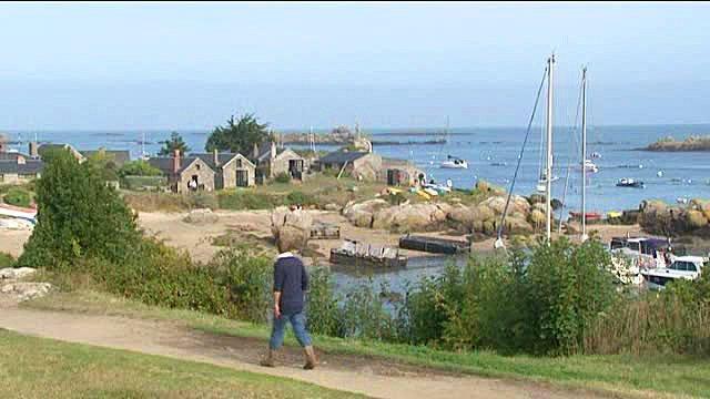 Promenade sur les Iles Chausey
