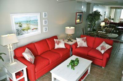 Living Room--refurnished in 2015!