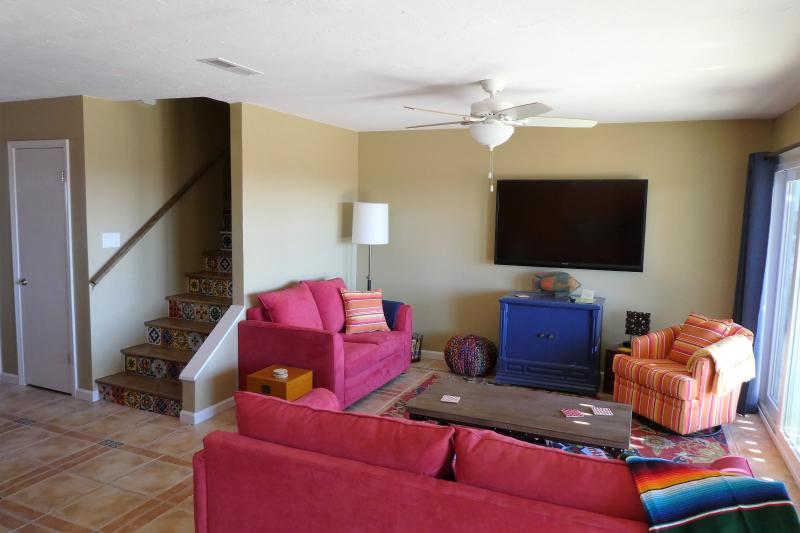 All new furnishings and a large HDTV with cable in addition to secure WIFI