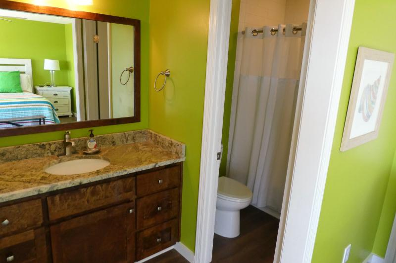 Renovated en suite master bath