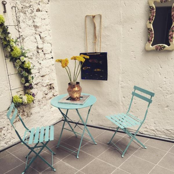Little patio on the first floor