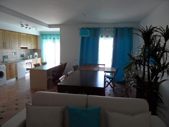 Dining room with the balcony table