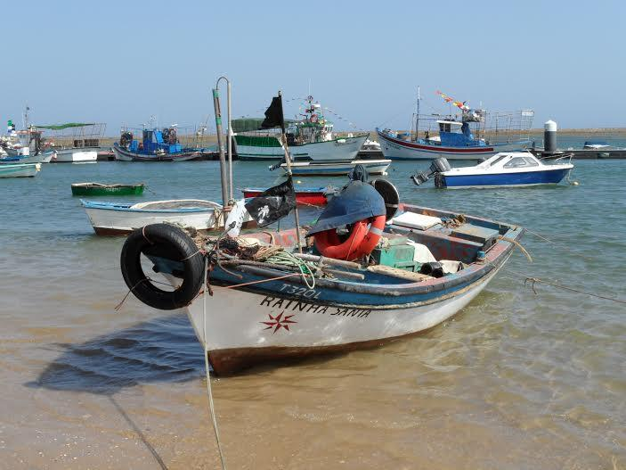 Fishing port of Santa Luzia Village