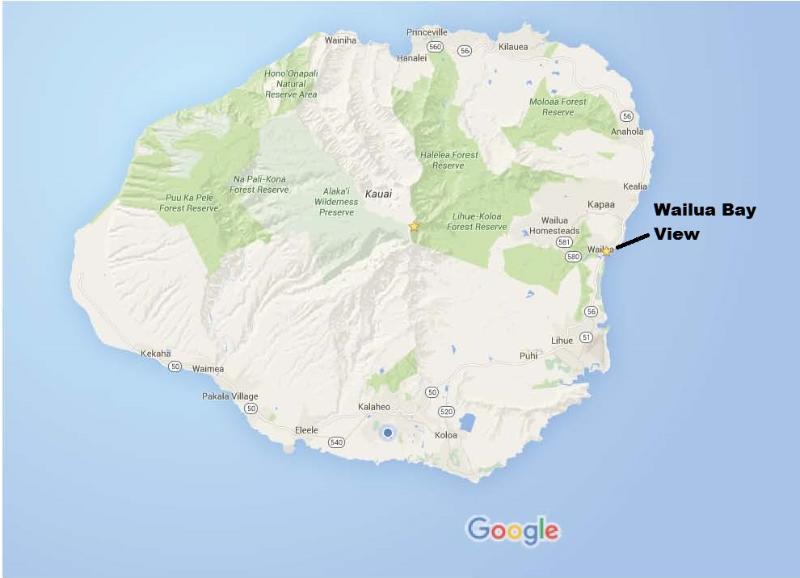 Location of WBV on island
