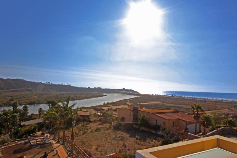 View of the beautiful La Mision beach