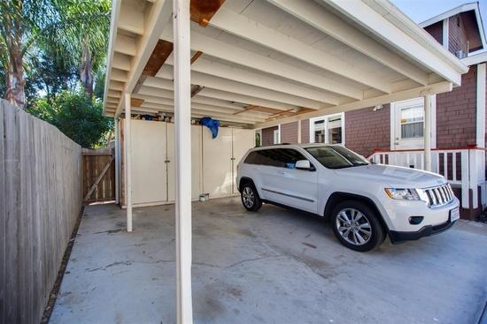 Carport for parking
