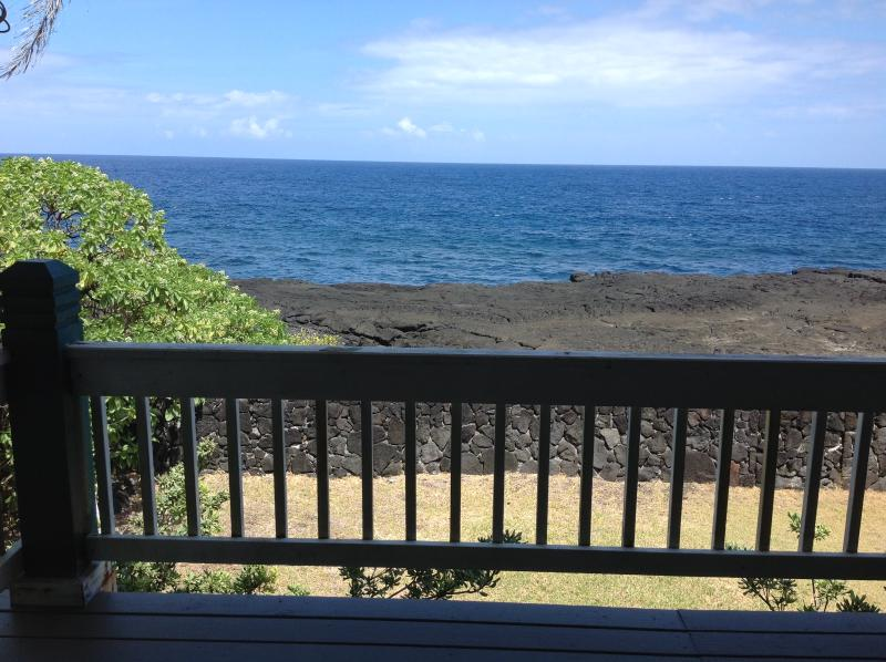 Ocean views from our deck!