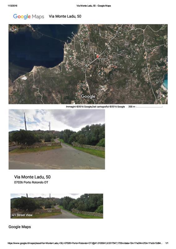 mappa del residence mq.40000